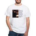 Erasmus on Buying Books White T-Shirt