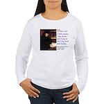 Erasmus on Buying Books Women's Long Sleeve T-Shir