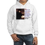 Erasmus on Buying Books Hooded Sweatshirt