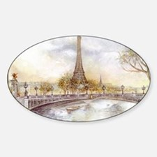Eiffel Tower Painting Decal