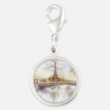 Eiffel Tower Painting Charms