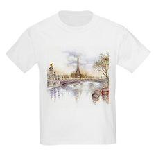 Eiffel Tower Painting T-Shirt