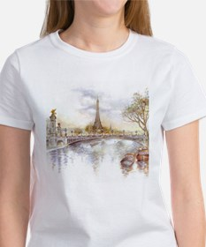 Eiffel Tower Painting T-Shirt