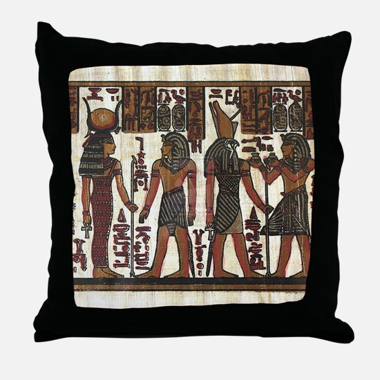 Ancient Egyptians Throw Pillow