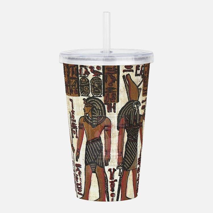 Ancient Egyptians Acrylic Double-wall Tumbler