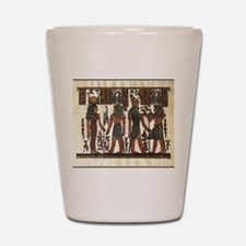 Ancient Egyptians Shot Glass