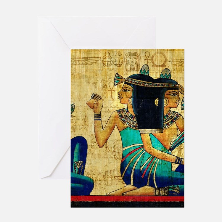 Egyptian Queens Greeting Cards