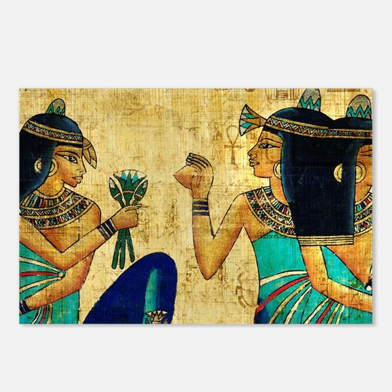 Egyptian Queens Postcards (Package of 8)