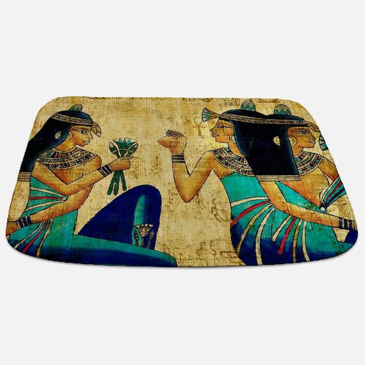 Egyptian Queens Bathmat