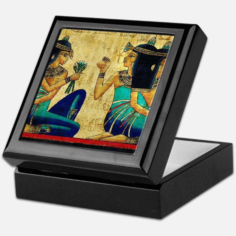 Egyptian Queens Keepsake Box