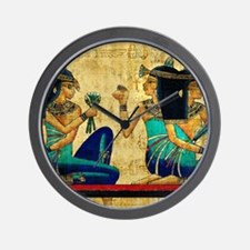 Egyptian Queens Wall Clock