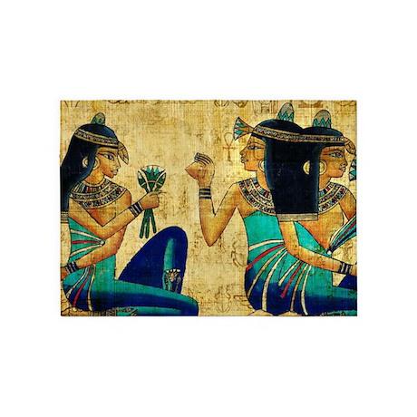 Egyptian Queens 5u0027x7u0027Area Rug