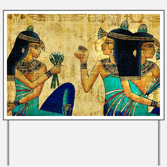 Egyptian Queens Yard Sign