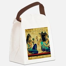 Egyptian Queens Canvas Lunch Bag