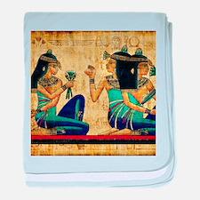 Egyptian Queens baby blanket