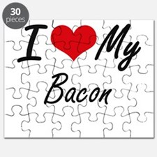 I Love My Bacon Puzzle