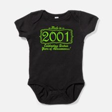 Made in 2000 16th Birthday Special Baby Bodysuit