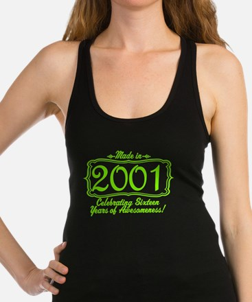 Made in 2000 16th Birthday Special Racerback Tank