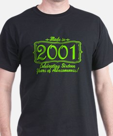 Made in 2000 16th Birthday Special T-Shirt