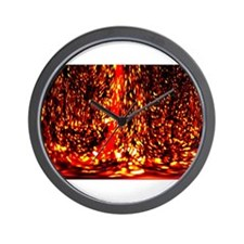 Fire Dance Wall Clock