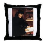 Erasmus Throw Pillow