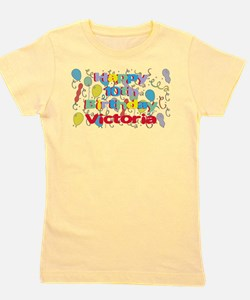 Cute Name victoria Girl's Tee