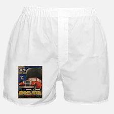 Vintage poster - Autorimessa Vittoria Boxer Shorts