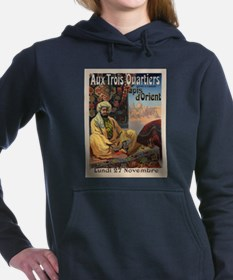 Vintage poster - Aux Tro Women's Hooded Sweatshirt