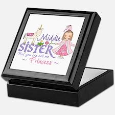 Unicorn Princess Middle Sister Keepsake Box