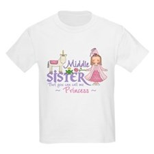 Unicorn Princess Middle Sister T-Shirt