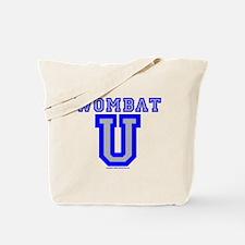 Wombat U VI Tote Bag