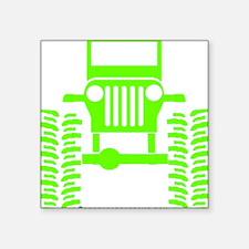 """Cute Rock crawler Square Sticker 3"""" x 3"""""""