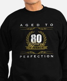 Vintage 80th Birthday Sweatshirt