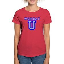 Wombat U VI Women's Dark Colored T-Shirt