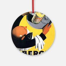 Vintage poster - Berger Round Ornament