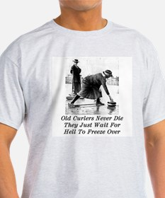 Funny Curling T-Shirt