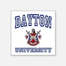 "Funny Dayton Square Sticker 3"" x 3"""