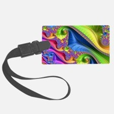 Cute Fractals Luggage Tag
