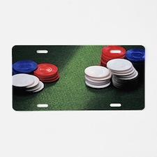 Unique Slot machines Aluminum License Plate