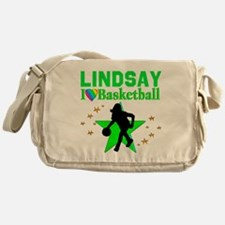 GO BASKETBALL Messenger Bag