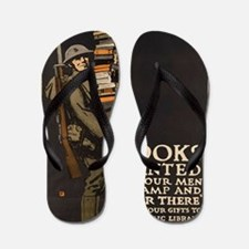 Unique Air force falcons mens Flip Flops