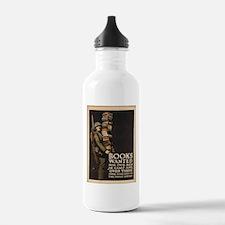 Vintage poster - Books Water Bottle