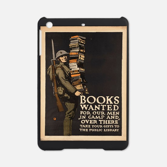 Vintage poster - Books Wanted iPad Mini Case