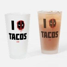 Deadpool Tacos Drinking Glass