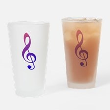 Key sol Drinking Glass