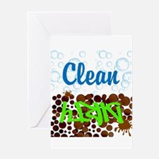 Clean and Dirty Greeting Cards