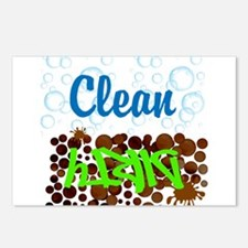 Clean and Dirty Postcards (Package of 8)