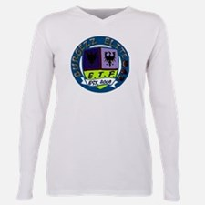 843 Burgezz Elite Crest Plus Size Long Sleeve Tee