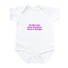The Best Part about Grandmas  Infant Bodysuit
