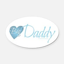 Big Daddy Oval Car Magnet
